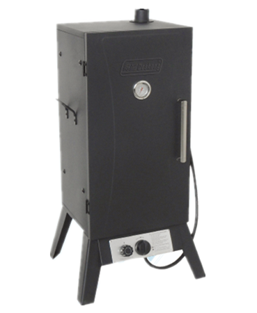 black gas meat smoker grill with factory price