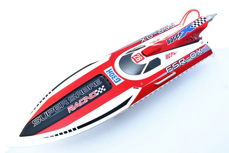 54''in 30CC High Speed Racing Hydro Gasoline Remote control Boat (G30H)