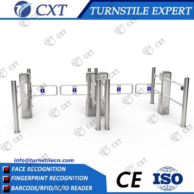 Supermarket Swing Barrier gate with bidirectional access control