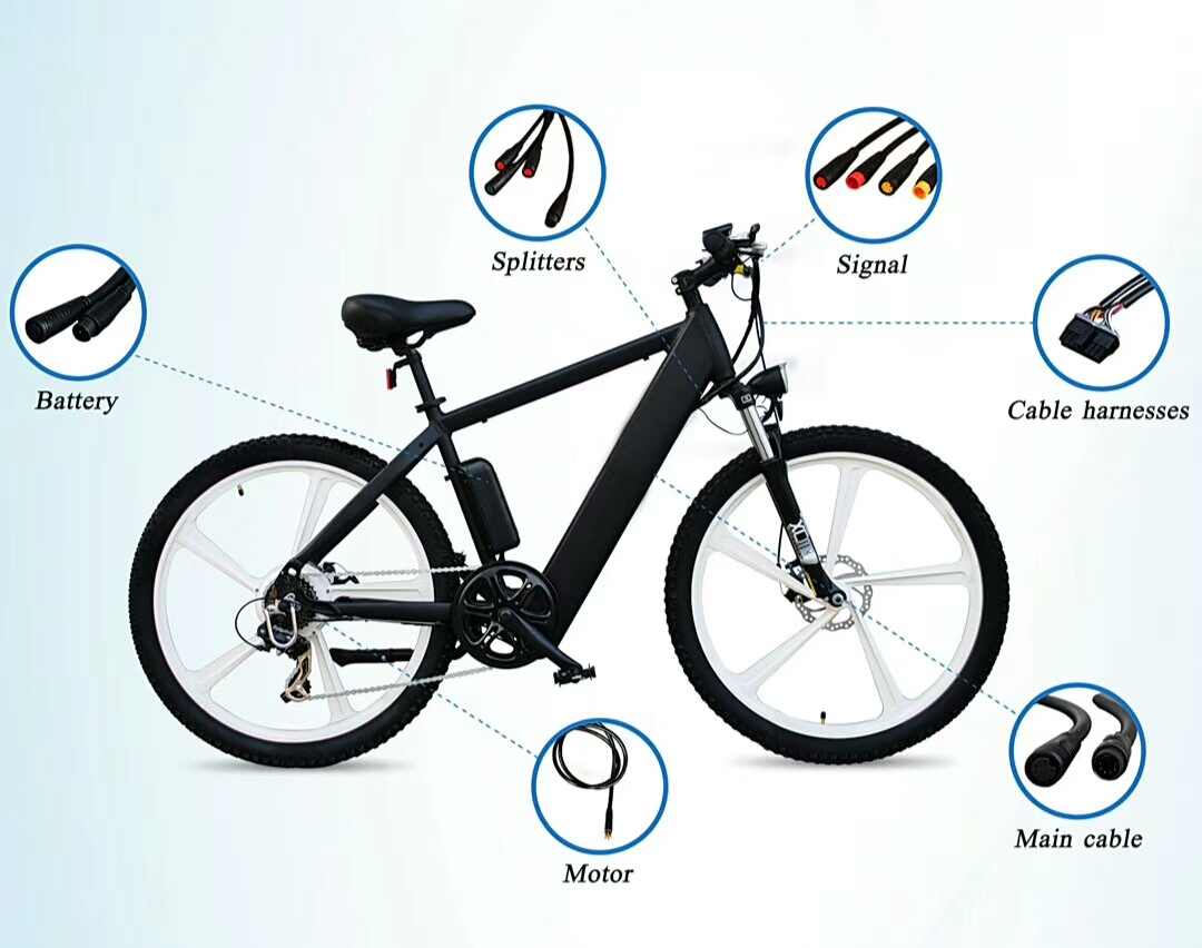 Electric bike bicycle waterproof cable,Electric vehicle cable