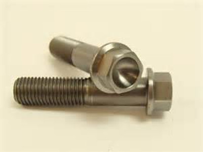titanium hex flange bolts
