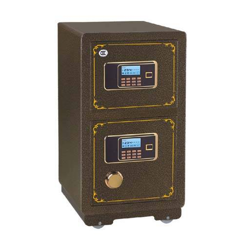 High security electronic digital safe box with fireproof for optional