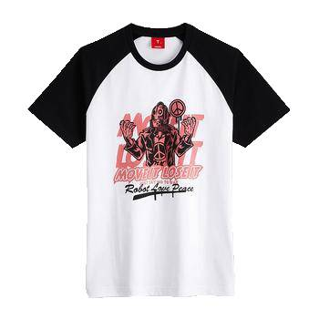 Fashion cotton jersey T shirt with printing design