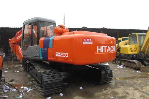 Used Hitachi ZAX200 Tracked Excavator