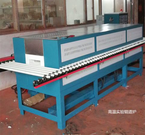 High-temperature and electrical heating experimental roller furnace