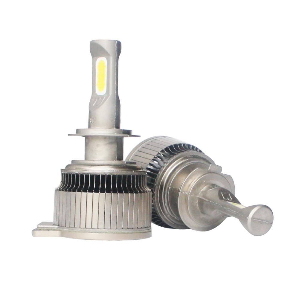 TJ LED headlight bulb 8800lm high brightness light for car H4 H7 H11 H1 top quality