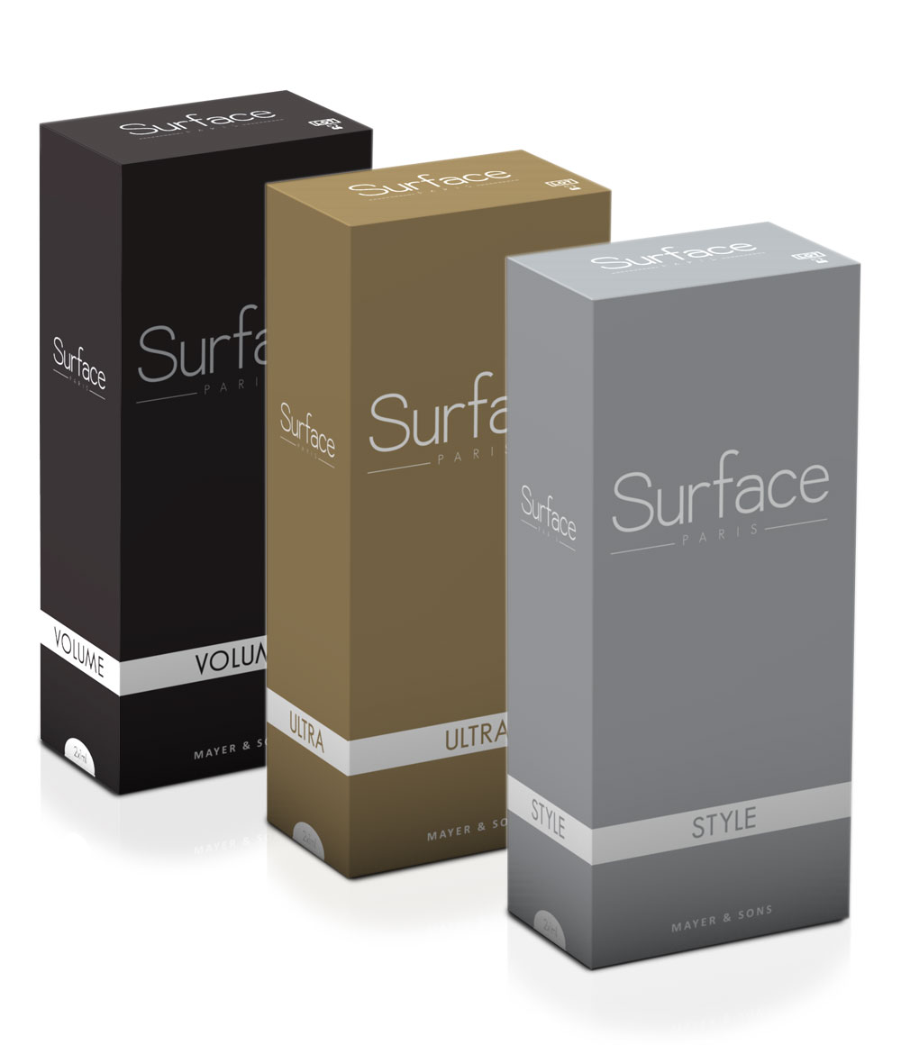 SURFACE STYLE, SURFACE ULTRA, SURFACE VOLUME, MESOHYAL VITAMIN C, DERMICA HAIRZON, VMR VITAHAIR