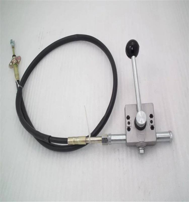 GJ1130 construction machinery hand throttle control lever
