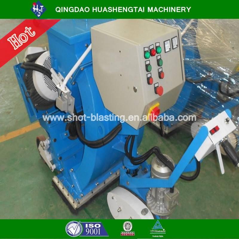 HST series floor shot blasting machine for airport runway cleaning