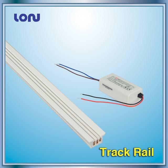 Track rail for Showcase LED Track Lights