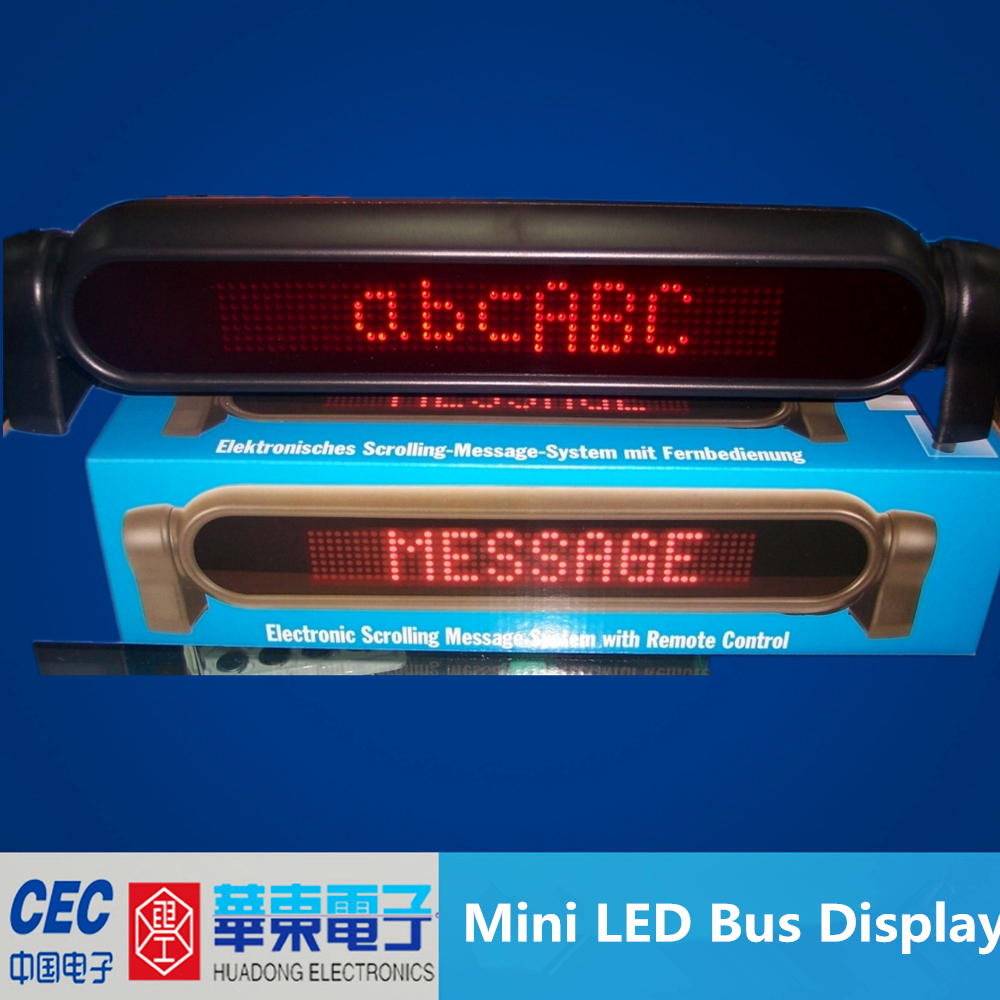 DC12V, mini led message sign