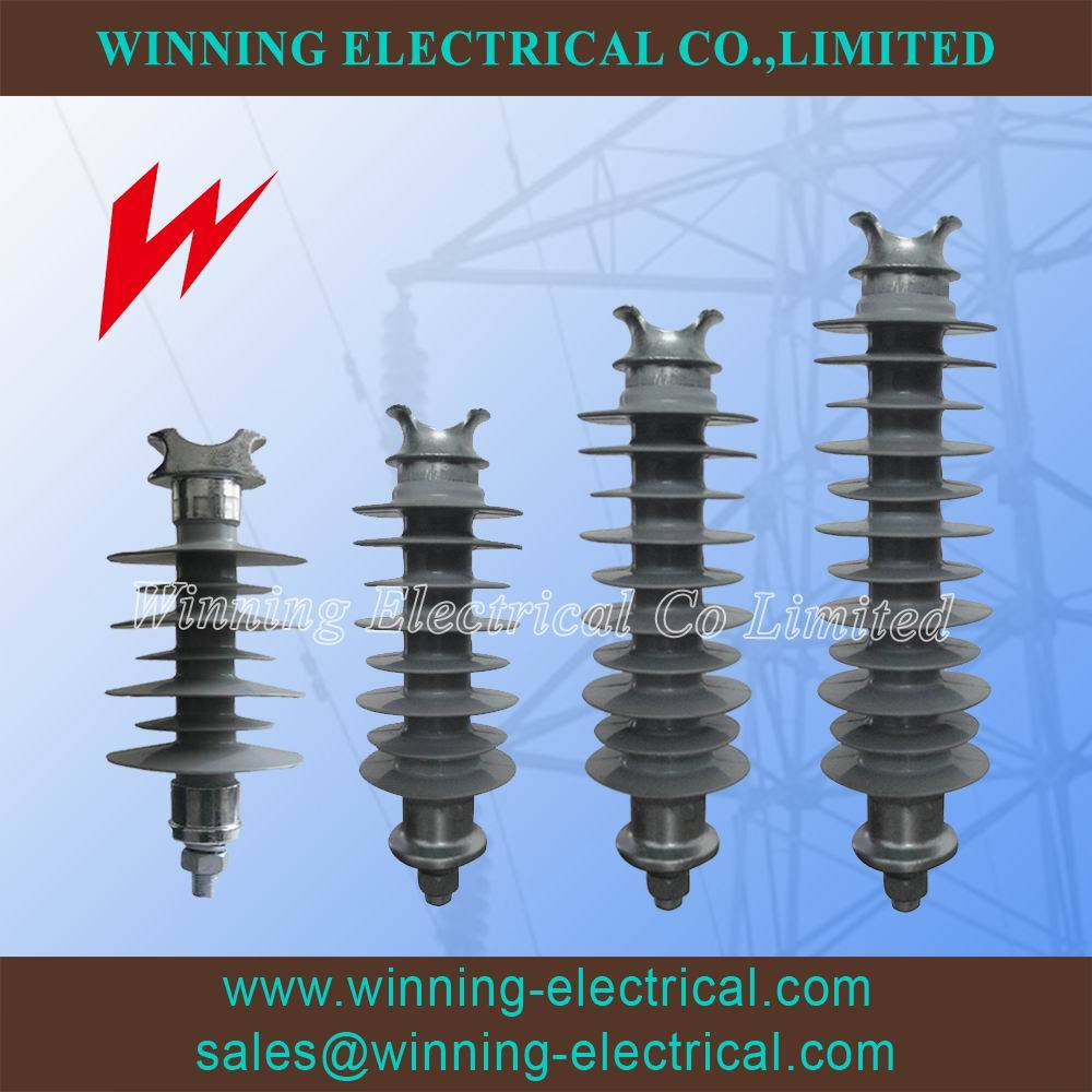 15kV~35kV Tie Top Composite Polymer Line Post Insulator