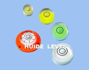 HUIDE plastic circular spirit level bubble