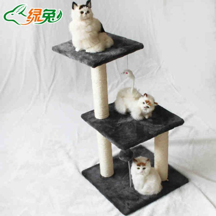 Cat scratch play Cat tree with house