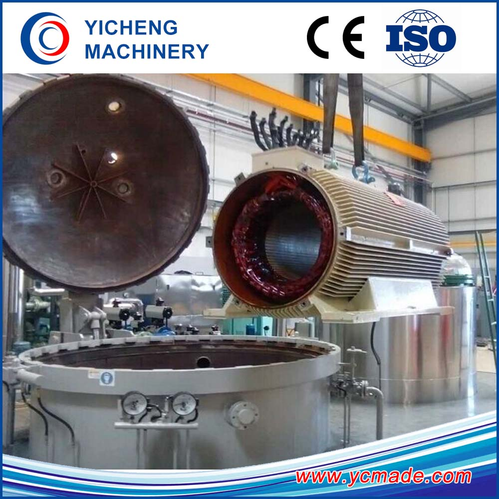 VPI plant for electric motors and transformers