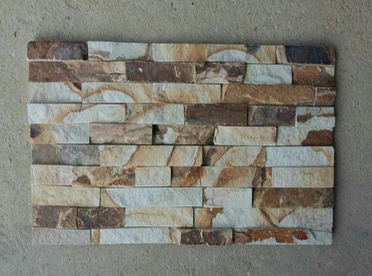 grey sandstone culture stone for exterior wall cladding decoration