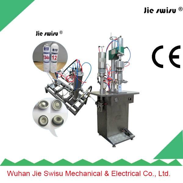 Aerosol Spray Can for butane gas filling machine