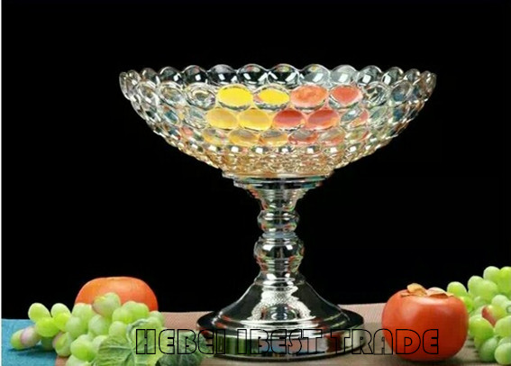 Glass Fruit plate(pot) for European style