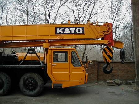 KATO NK400E 40T used truck mounted crane for sale