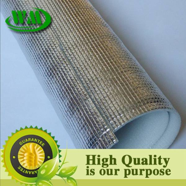 silver color reflective epe foil insulation