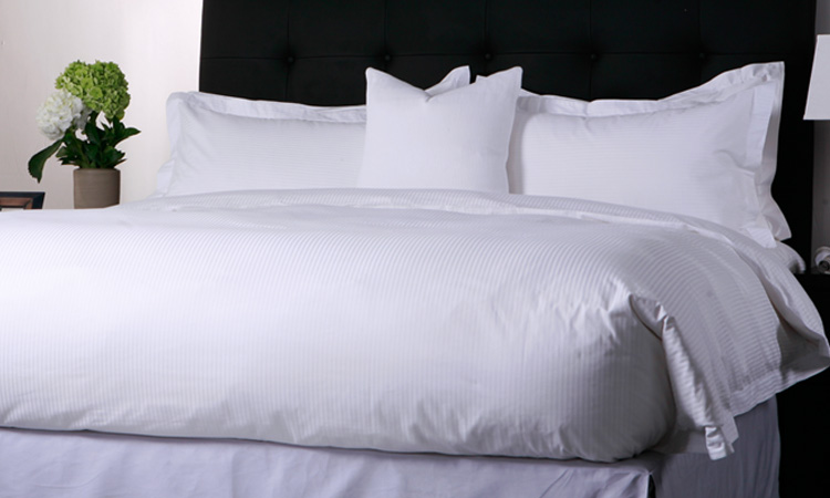 100% Cotton Bedding Set Duvet Cover Hotel Linen Bed Sheet