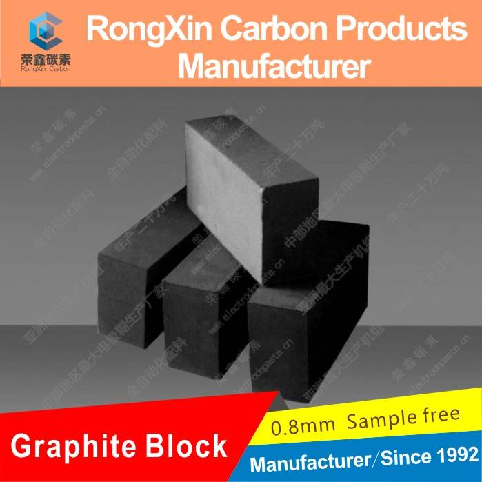 High Density Graphite Block For Iron Casting