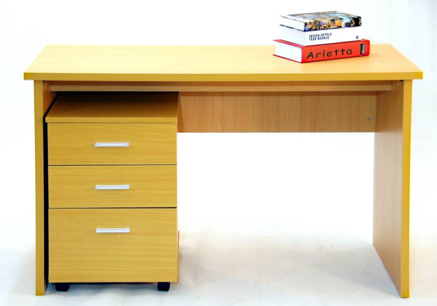 PC melamine board office furniture with cabinet
