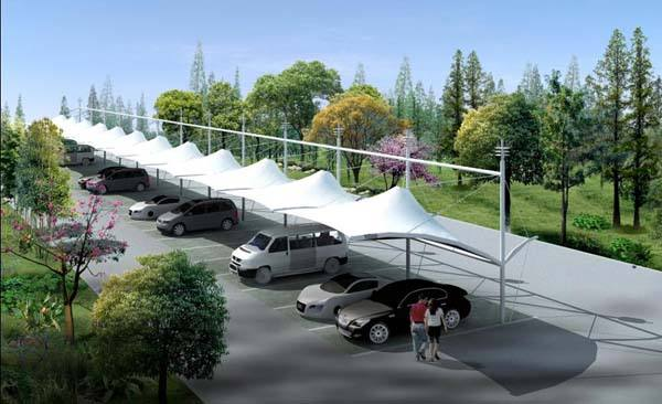 Quality promised and flexible car parking shade net