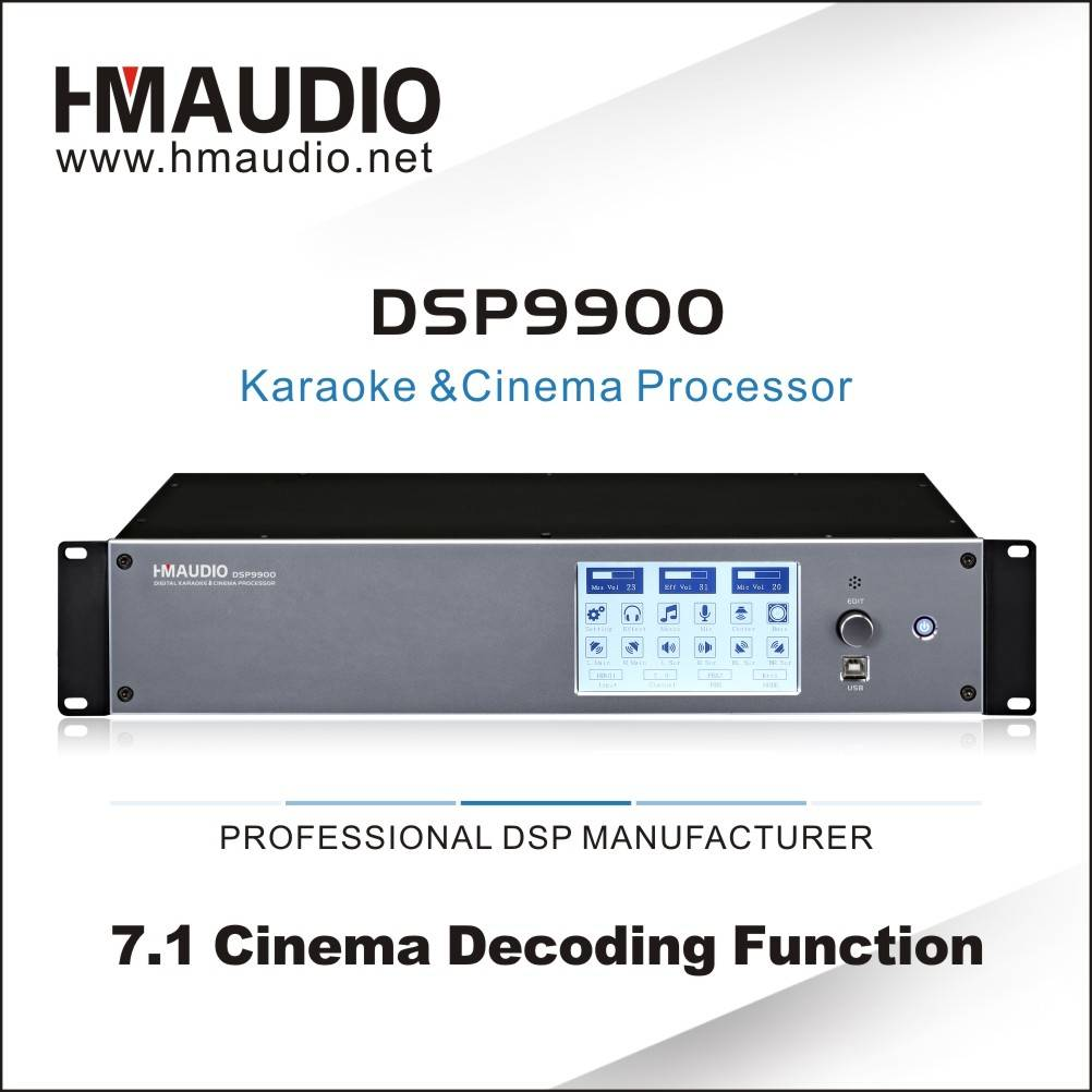 DSP 9900 Digital Karaoke&Cinema Processor with Wifi HDMI
