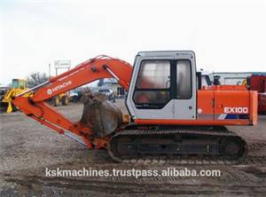 Hitachi EX100 Wheel Excavator
