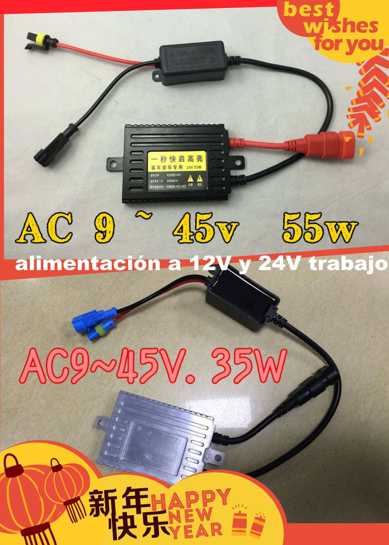 55w /24v Slim ballast AC xenon kit HID coversion kit