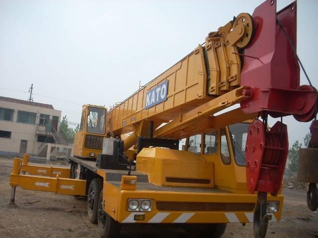 used kato crane 45ton