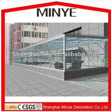 Shanghai minye aluminum insulated glass sunroom system