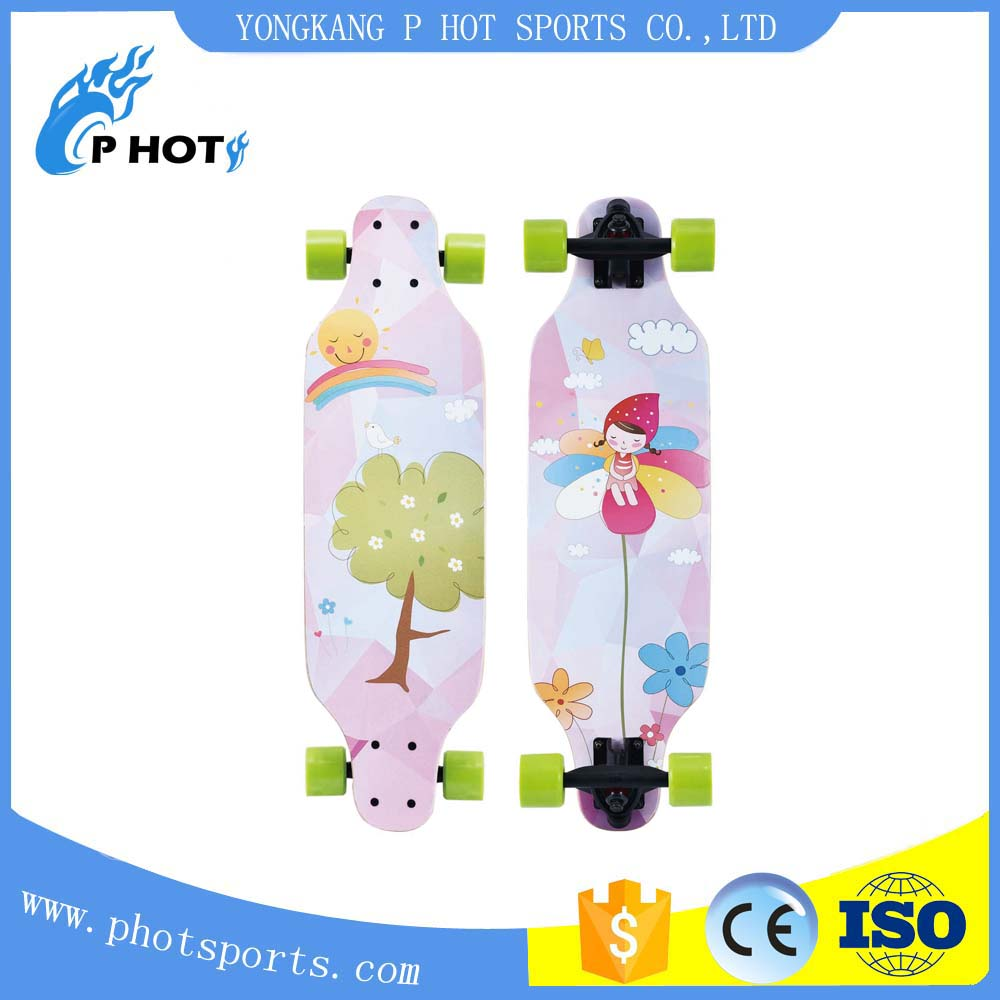 hot design custom mini longboard OEM service skateboard