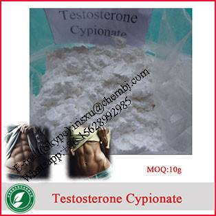 98% Oral / Injectable Anti Estrogen Steroid Powders Testosterone Cypionate for Muscle Building CAS 5