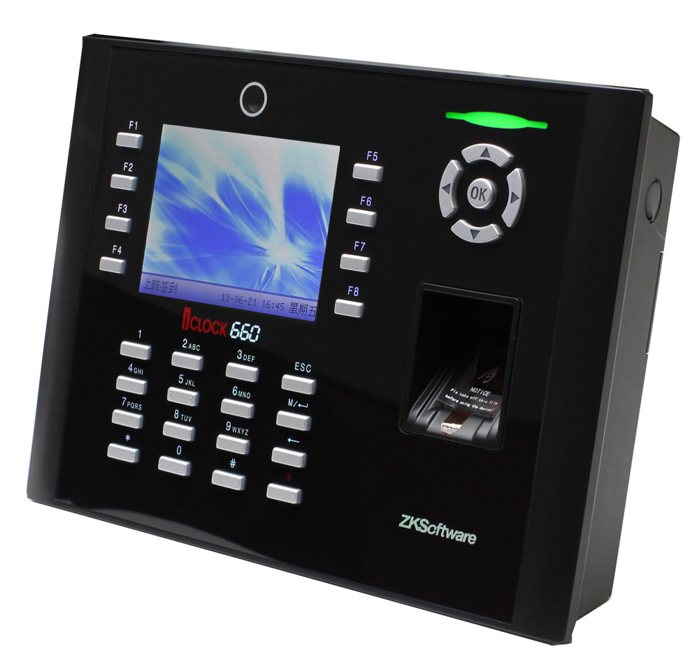 Biometric Fingerprint Time Attendance With Camera iclock660