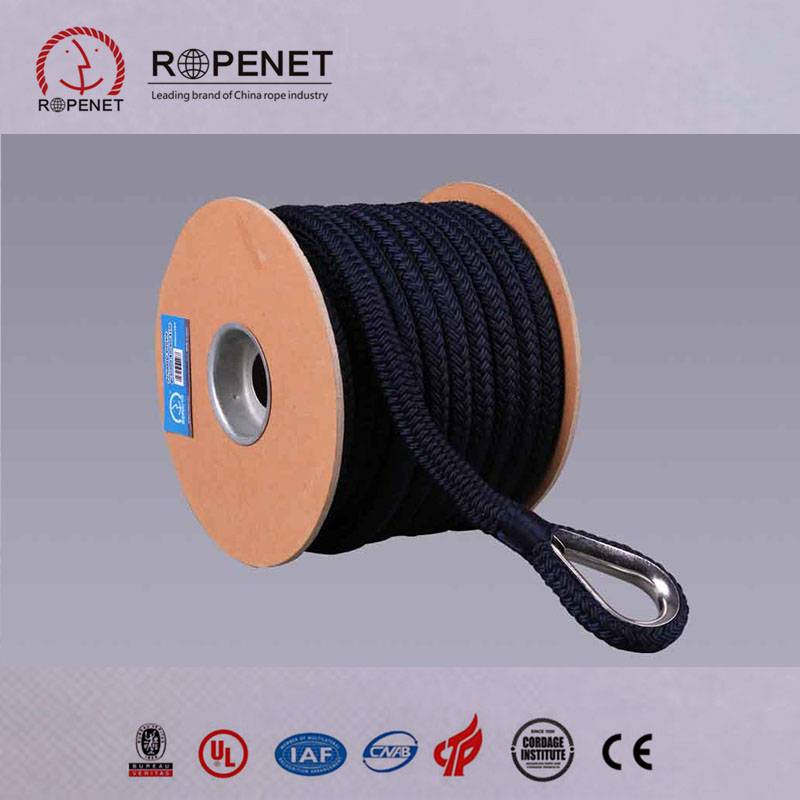4mm 5mm 6mm 3 inch Polyamid Nylon Colored Braided Rope Price