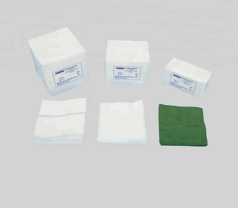 Non sterile woven gauze swab,gauze sponge with x-ray