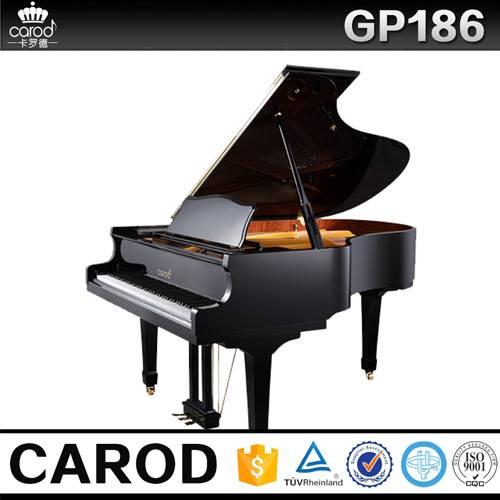 grand piano black polish Gp186