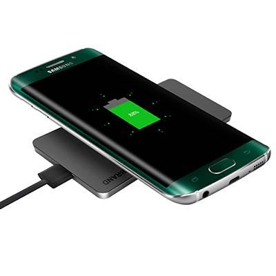 Qi Wireless Charging Pad for Galaxy S7, Galaxy S7 Edge, Galaxy S6, Note 5, S6 Edge+, S6 Edge, Nexus