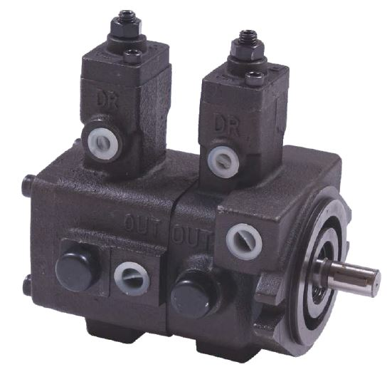 Variable Displacement Double Vane Pump - VPP Series