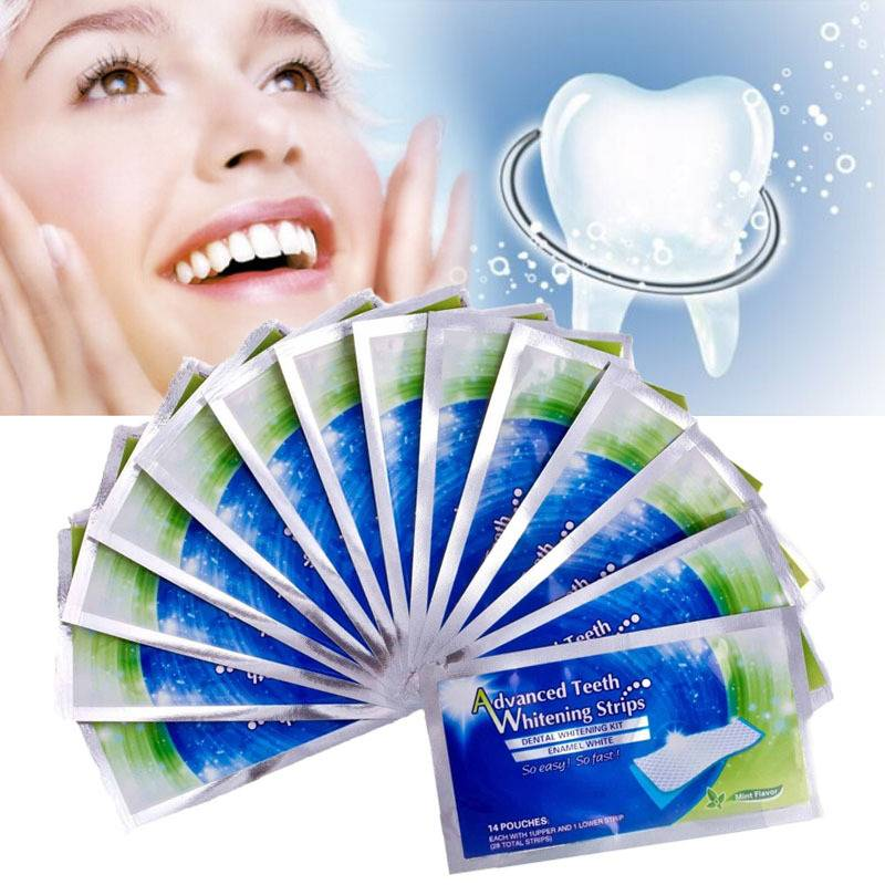 Hot sale home use advanced teeth whitening strips
