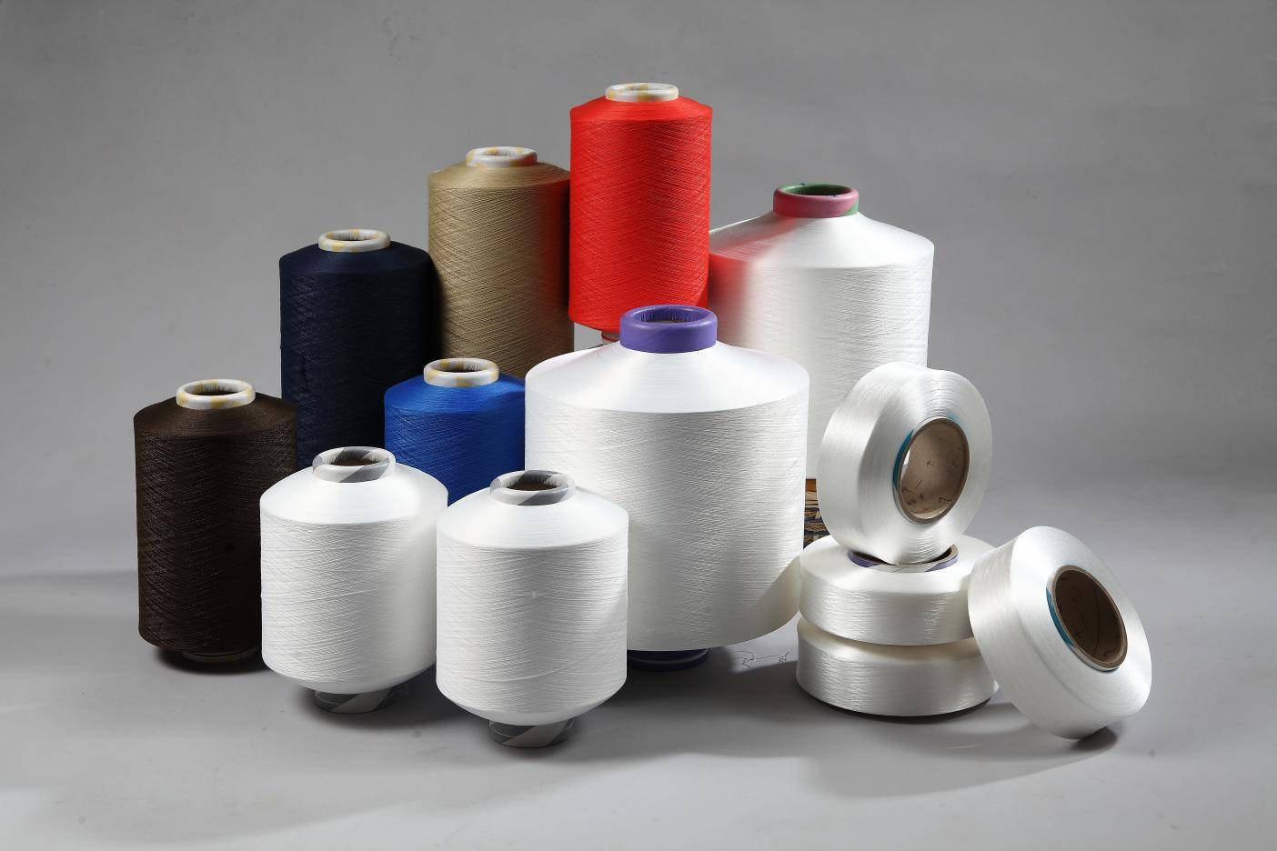 Spandex Covered with Nylon 6 (Polyamide 6) Yarn