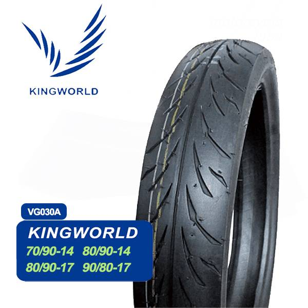 Chinese Wholesale 3.00-14 80/90-14 Motorcycle Tire Price