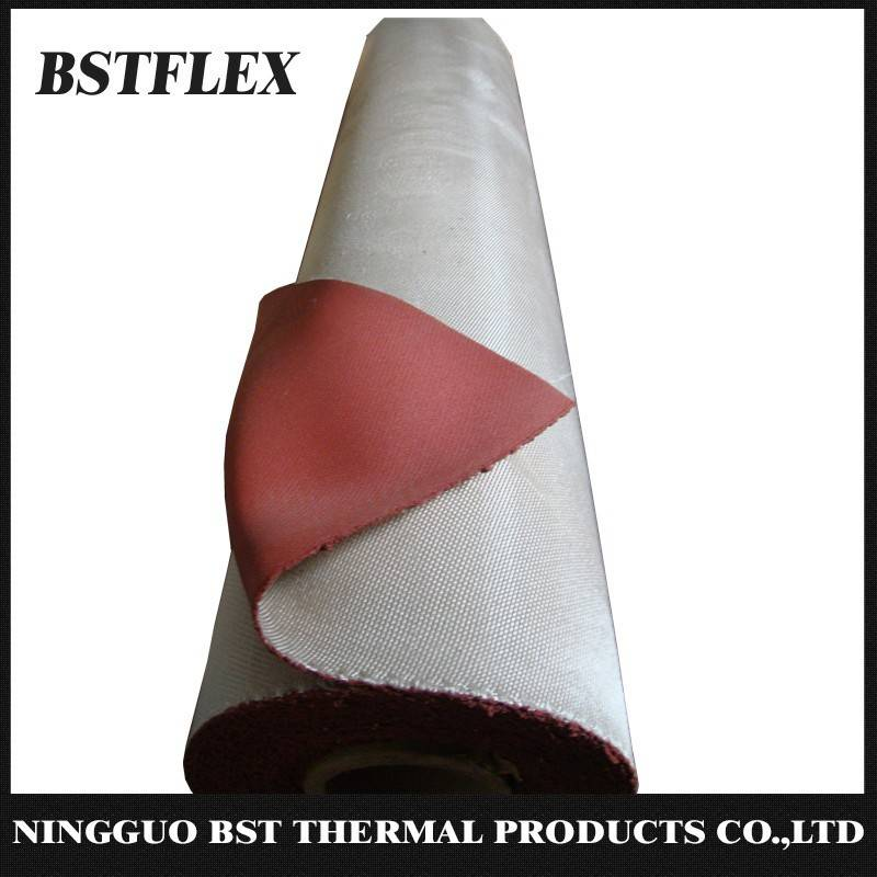 Silicone Rubber Coated Silica Fiber Fabric