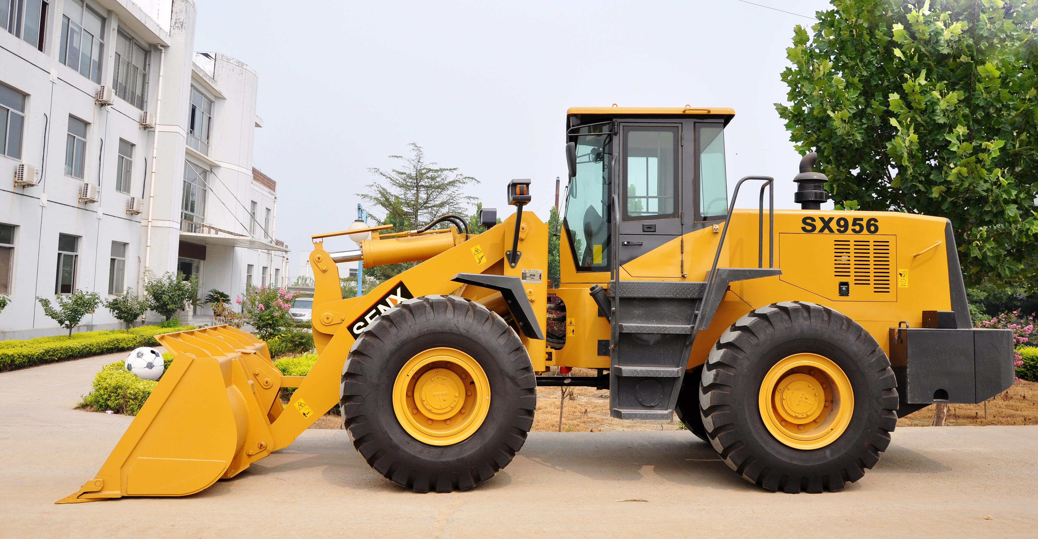 China cheap wheel loader 5T loader SX956 for sale