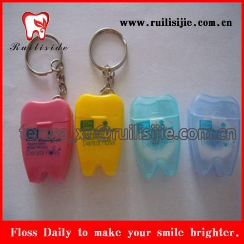 Tooth Dental Floss Supply, Dental Floss Direct Factory Supply Cheap Tooth Shape Floss Dental
