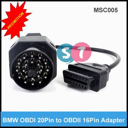 BMW 20pin OBD1 to 16 pin OBD2 Connector