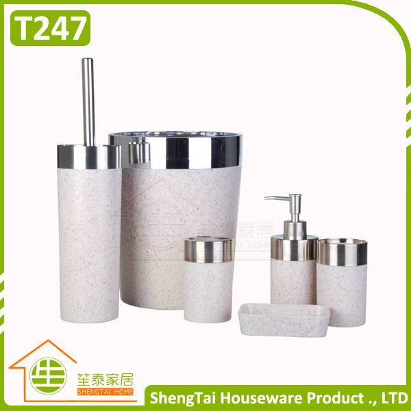 Stone Marble Design European Style Latest Home Bathroom Sanitary Set