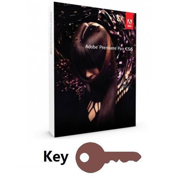 Adobe Premiere Pro CS6 Key